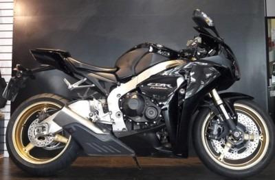 Motocicleta Honda Cbr 1000 Rr 2010 Preta