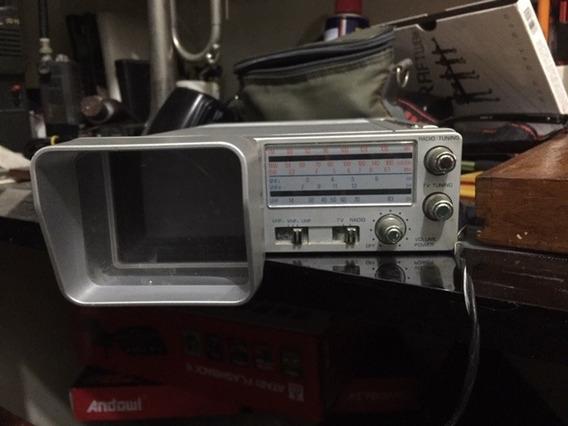 Tv Radio Am Fm Broksonic Anos 80 Funcionando Bem!