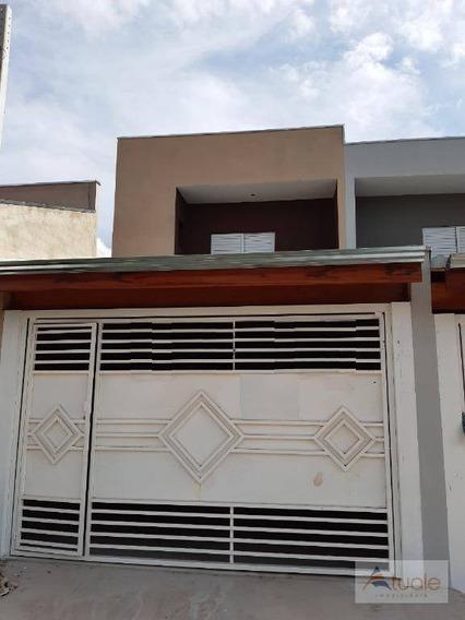 Casa Com 3 Dormitórios À Venda, 110 M² - Jardim Alvorada - Sumaré/sp - Ca6294