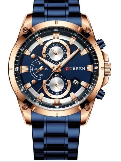 Relógio Curren Majestic Blue