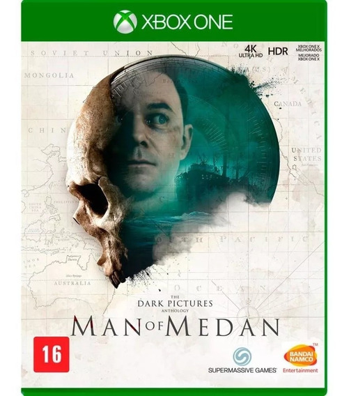 Jogo: The Dark Pictures Man Of Medan - Xbox One Mídia Física Original Lacrada