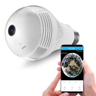 Shoptech Foco Cámara Ip 360 Vigilancia Espía Android Ios