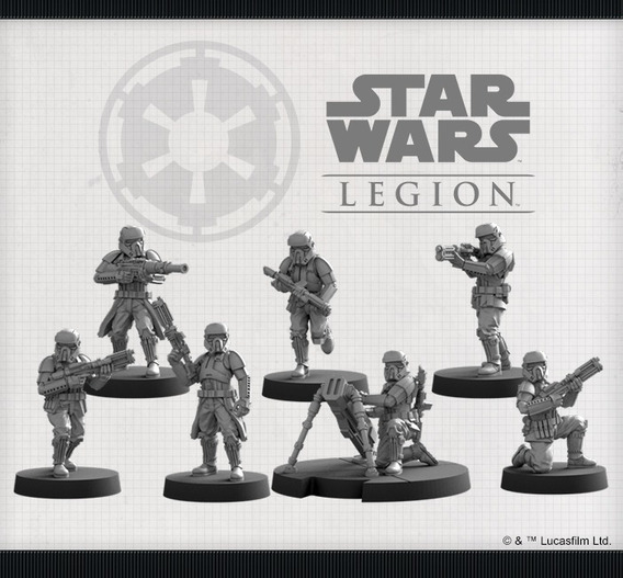 Archivos Stl De Impresión 3d - Star Wars Legion Personajes