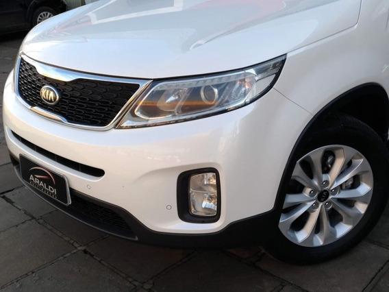 Kia Sorento Ex 2.4 2015 Branco Gasolina