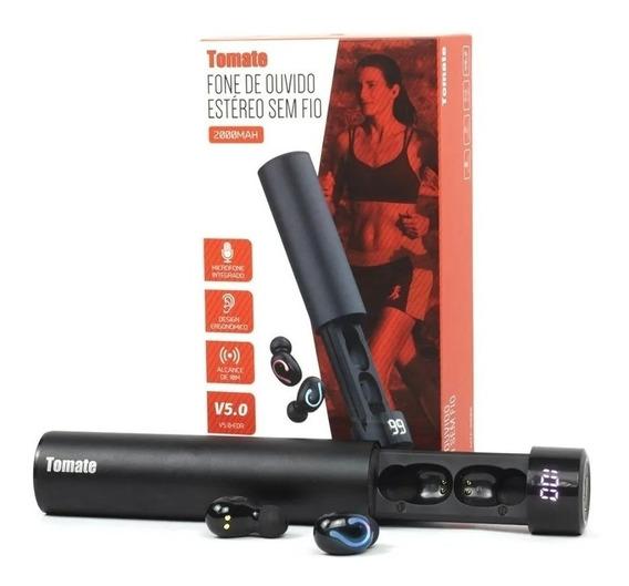 Fone De Ouvido Estéreo Sem Fio 10m Bateria Tomate Mtf8808