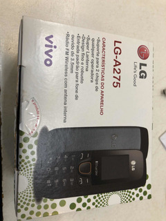 Celular Lg A275dual Anatel C/ Entrada Para Antena