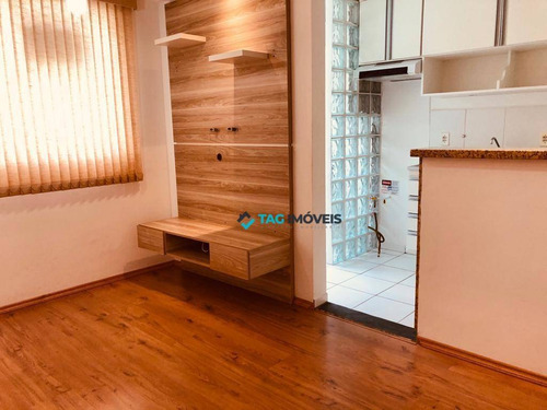 Imagem 1 de 6 de Apartamento Com 2 Dormitórios À Venda, 45 M² Por R$ 230.000,00 - Parque Jambeiro - Campinas/sp - Ap1471