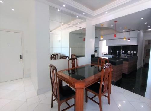 Apartamento Com 3 Dormitórios À Venda, 100 M² Por R$ 620.000,00 - Pitangueiras - Guarujá/sp - Ap5208