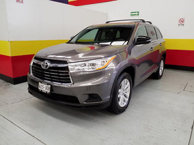 Toyota Highlander 3.5 Le V6 At 2015 Mexcar