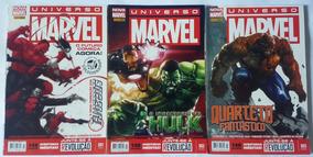 Hq Universo Marvel Nova Marvel (volume 1 Ao 3) Raridade!