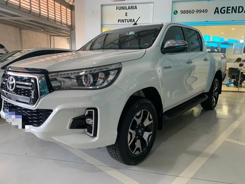 Toyota / Hilux 2.8 Tdi Cd Srx 4x4 Top De Linha + Único Dono