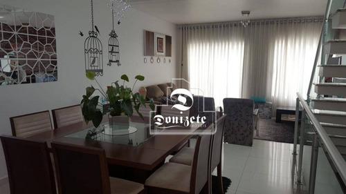 Sobrado Com 3 Dormitórios À Venda, 176 M² Por R$ 799.000,00 - Pinheirinho - Santo André/sp - So2442