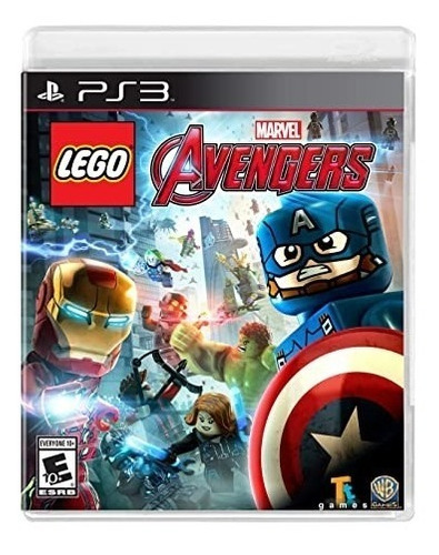 Lego Marvel Avengers Ps3 Original Digital
