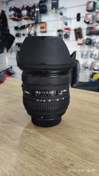 Lente Sigma 24 - 70 2.8 Para Nikon