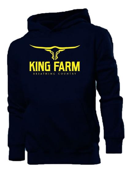 Blusa De Moletom Marca Country Rodeio King Farm