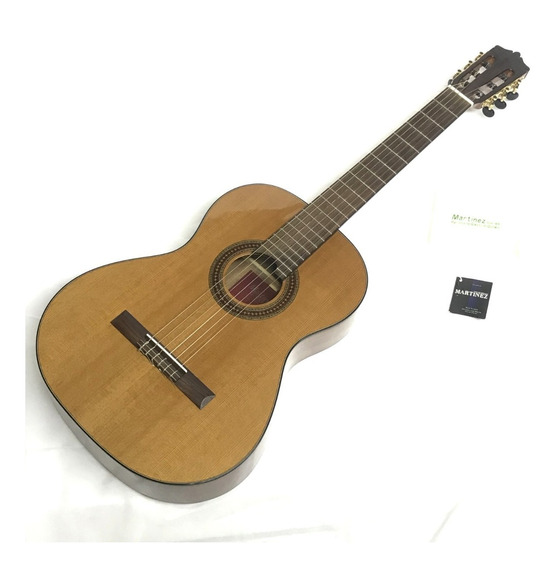 Violão Martinez Mc-48c Handmade Classical Guitars - Usado!!
