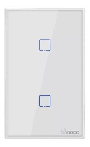 Sonoff T2 Us 2 Canales Tecla Touch Wifi/rf Con Garantia