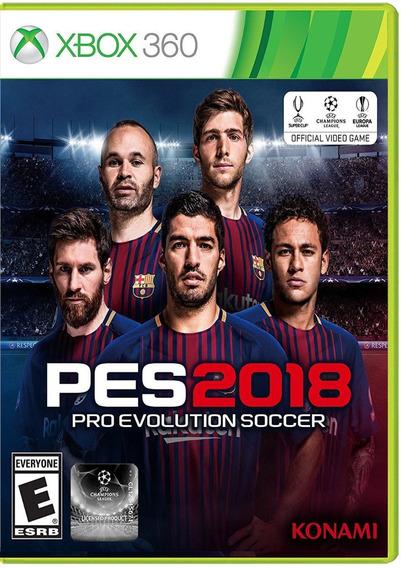 Pes 2018 | Pro Evolution Soccer 18 [xbox 360] Mídia Digital