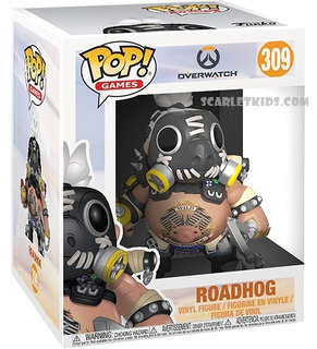 Funko Pop Overwatch Roadhog 309 Original 15 Cm Scarlet Kids
