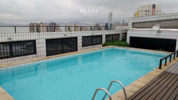 P Da Praia Elevador Flat Duplex Vista Mar 1 Dormitório 1 Vg Gar - A399075