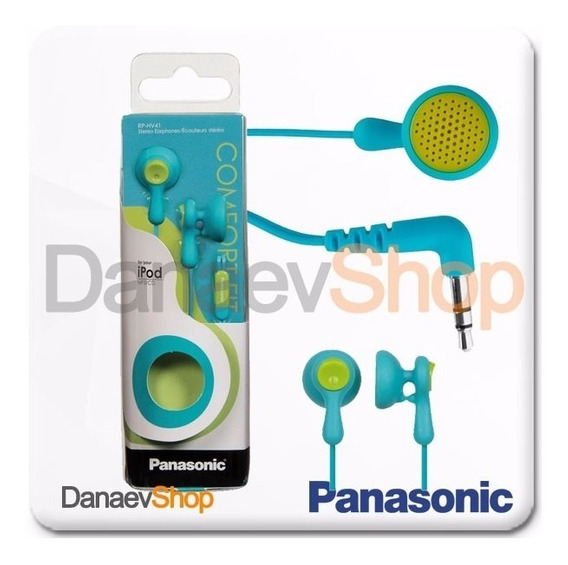 Audifono Panasonic Rp-hv41 Originales [9 Americanos]