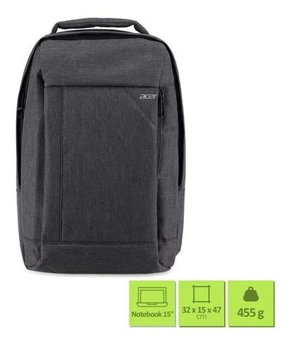 Imagem 1 de 2 de Mochila Acer Backpack Gray Dual Tone (notebook 15.6) - 2970