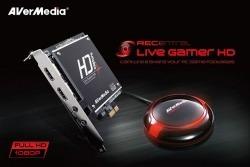 Placa Captura Avermedia Live Gamer 1080p (full Hd) C985