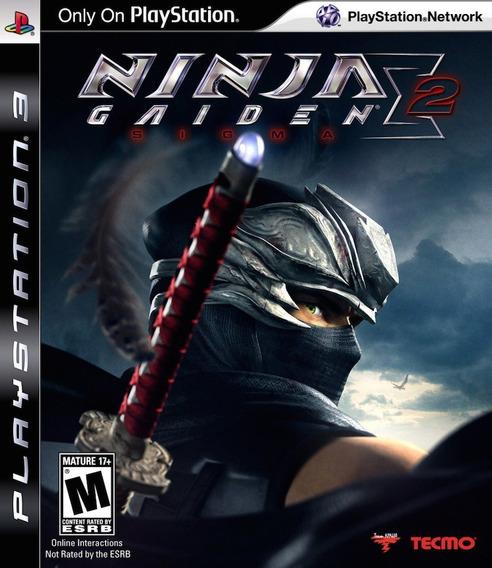 Ninja Gaiden Sigma 2 - Ps3 Psn Mídia Digital