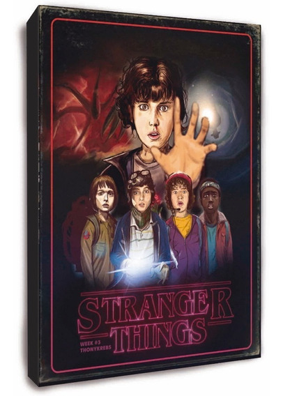 Stranger Things Cuadro - Todas Las Series Y Películas
