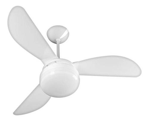 Imagem 1 de 3 de Ventilador De Teto Ventisol Fênix Branco Premium - 110/127v