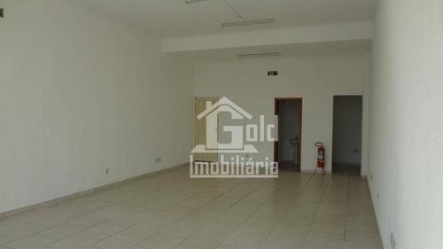 Salão Para Alugar, 72 M² Por R$ 2.200/mês - Campos Elíseos - Ribeirão Preto/sp - Sl0145