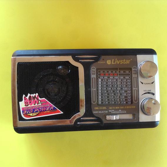 Radio Portatil Livistar 9 Faixas