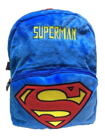 Mochila Pre Escola Creche Superman Infantil Is31972sm Azul