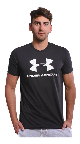 Remera Under Armour Sportstyle Logo-1354536-001- Open Sports