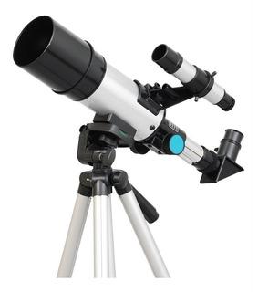 Telescopio Astronomico Twinstar, Tripode De Aluminio, 60mm