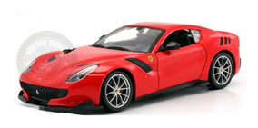 Miniatura Ferrari F12 Tdf Vermelha Burago 1/24