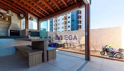 Cobertura Com 3 Dormitórios À Venda, 120 M² Por R$ 698.900,00 - Bonfim - Campinas/sp - Co0084