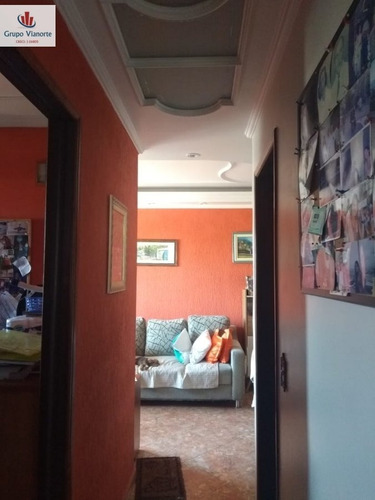 Apartamento A Venda No Bairro Vila Pereira Barreto Em São - Jv901-1