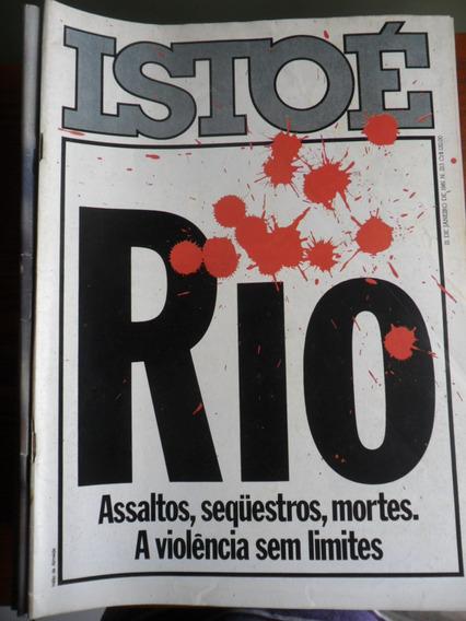 Isto É - Violência No Rio (nº 213) Frete Grátis