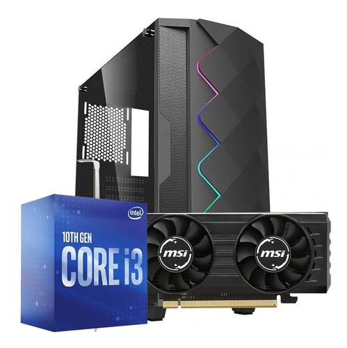 Pc Gamer Intel Lite I3 10100f - Rx 550 2gb