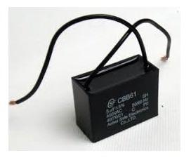 Capacitor De Ventilador Cbb61 1,5uf X 450v Retangular 20 Pçs