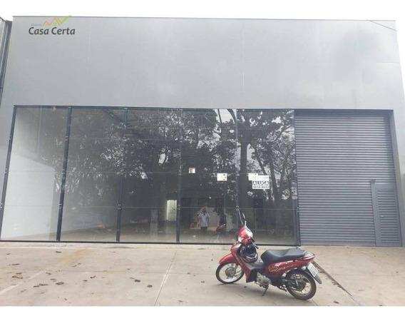 Barracão Para Alugar, 350 M² Por R$ 4.000/mês - Jardim Almira - Mogi Guaçu/sp - Ba0040