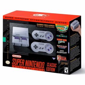 Super Nintendo Snes Classic Mini Original + 150 Jogos