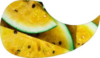 Escudo Palheteira Resinada Violão Aço Yellow Fruit
