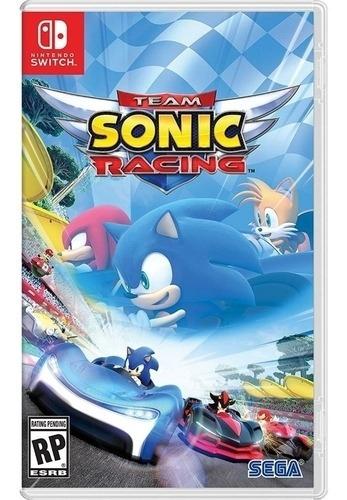 Sonic Racing - Nintendo Switch