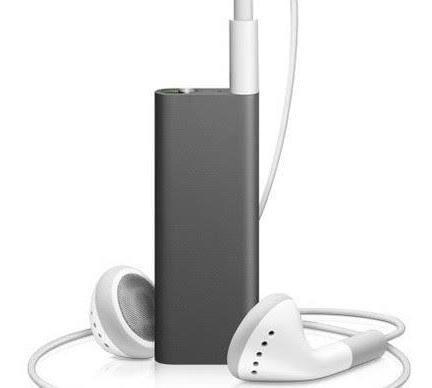 Apple iPod Shuffle 3rd Gen Original Black