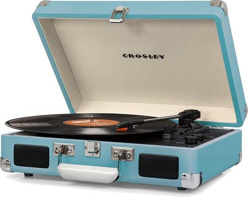 Tornamesa Crosley Tocadiscos De Vinyl Maletín Bluetooth