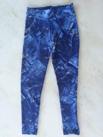 Calça Leggin Jeans