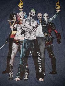Playera Joker Harley Batman Escuadrón Suicida Original.