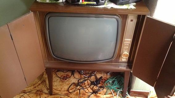 Televisor National Antiguedad No Funciona (100dl)